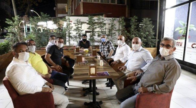 Başkan Bıyık, vatandaşlarla çay sohbetinde buluştu