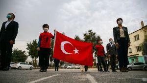 Tüm okullarda İstiklal Marşı coşkusu!