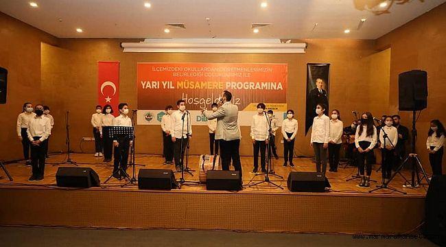 Dilovalı öğrencilere şiirli, müzikli moral