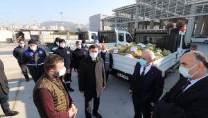 Gebze'de İhtiyaç sahibine gıda desteği