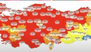 Kritik harita güncellendi! Kocaeli'de korkutan artış