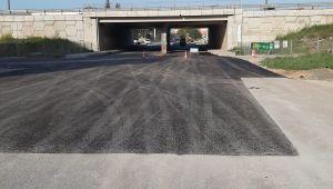 Cumhuriyet Caddesi asfaltlandı