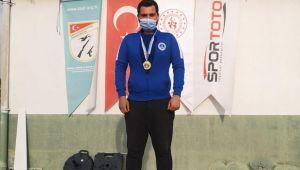 Kağıtsporlu Serhat, olimpiyat kotası için mücadele edecek