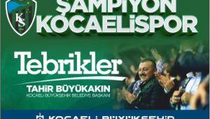 ŞAMPİYON KOCAELİ SPOR