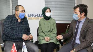 Büyükşehir'den engelli bireyler için sağlık söyleşileri