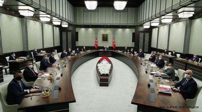 Kabine toplantısı öne çekildi