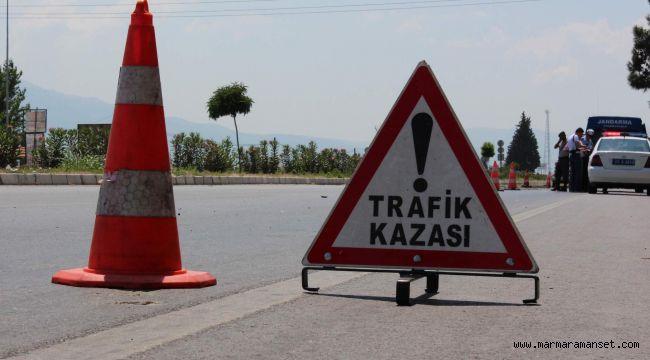 Zincirleme kazada 4 kişi yaralandı!