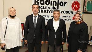 Başkan Şayir'den MHP'ye hayırlı olsun ziyareti