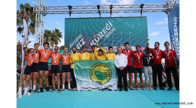 Deniz Küreği Yarışlarında Şampiyon Belli Oldu