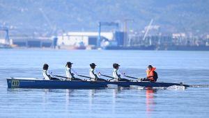 Körfez Kupası Deniz Küreği Yarışları başladı