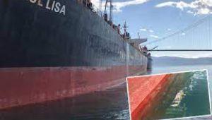 Körfezi kirleten gemiye 3 milyon 28 bin 355 lira ceza!