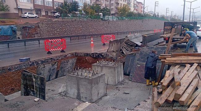 Tramvay inşaatı devam ediyor