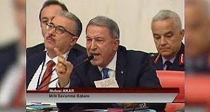 TBMM'de Hulusi Akar çok kızdı |www.marmaramanset.com|